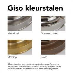 GISO kleurstalen - De Inrichterij Dordrecht