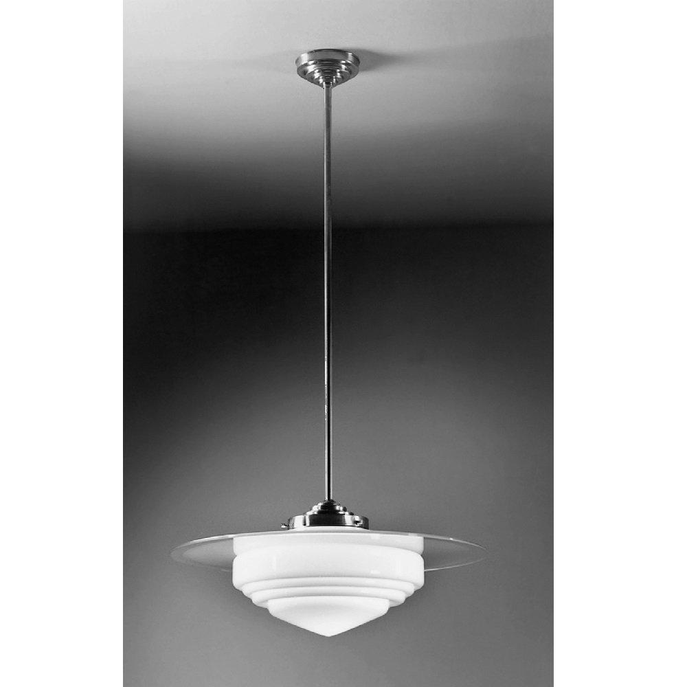 Giso hanglamp Deco punt met glasplaat