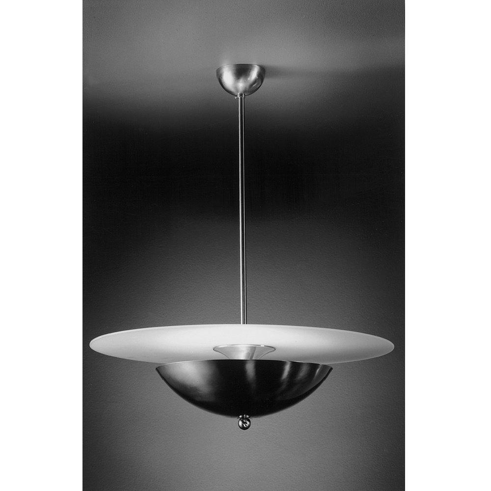 Giso hanglamp Halve Maan met glasplaat