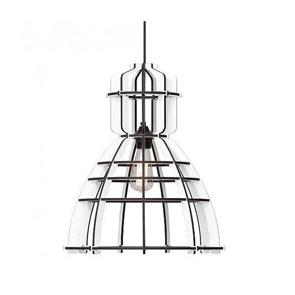Lichtlab hanglamp No.19 wit