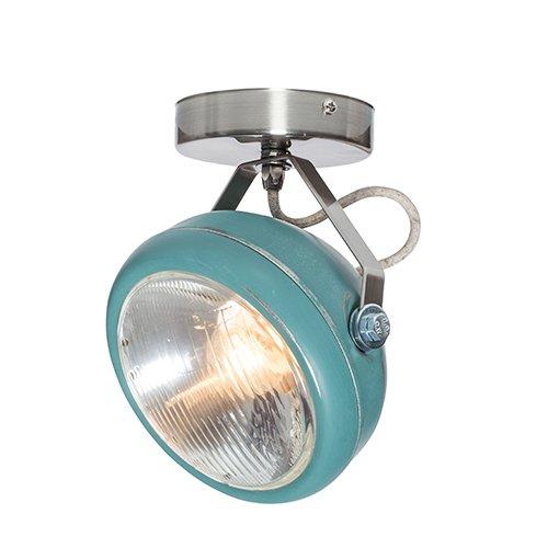 Lichtlab spot vintage koplamp No.7 aqua