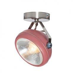 Lichtlab spot vintage koplamp No.7 marsala
