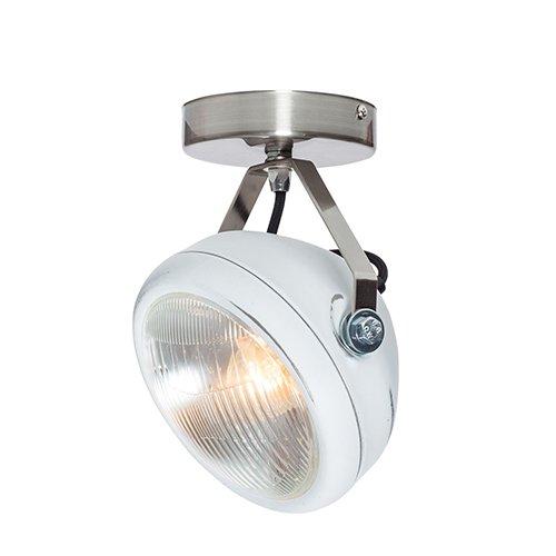 Lichtlab spot vintage koplamp No.7 wit