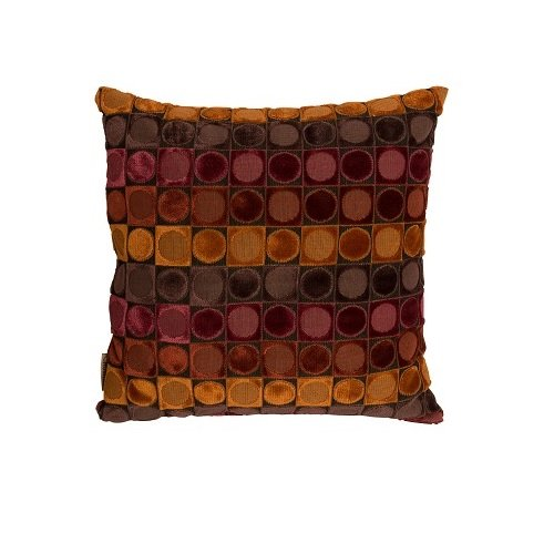 Dutchbone kussen Ottava - rood/oranje