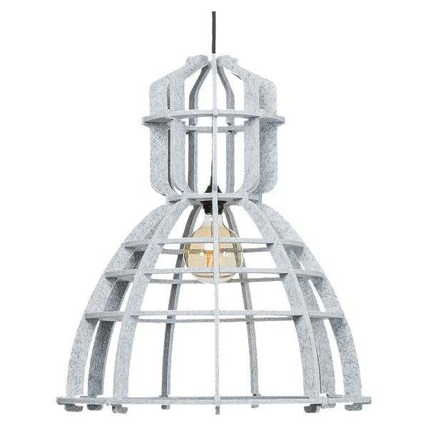 Lichtlab hanglamp No.19 XL PET felt - marble