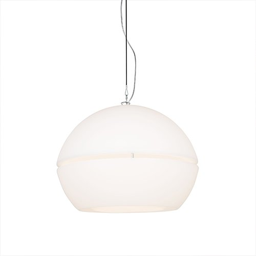 Formadri hanglamp Ball Dome - wit