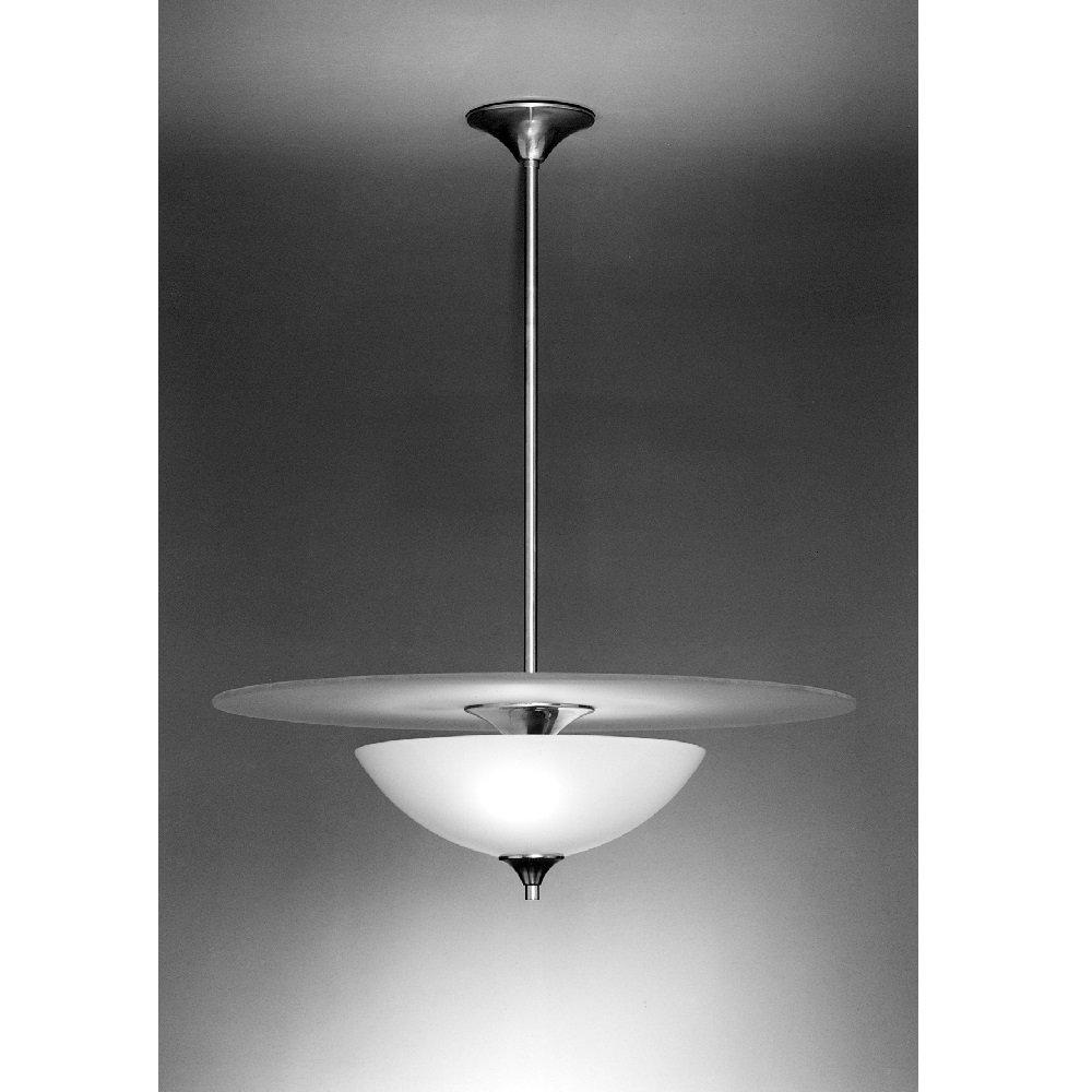 Giso hanglamp Volle Maan met glasplaat