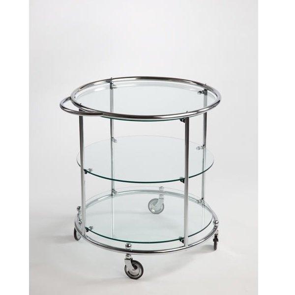 Giso serveerwagen 3 glasplaten