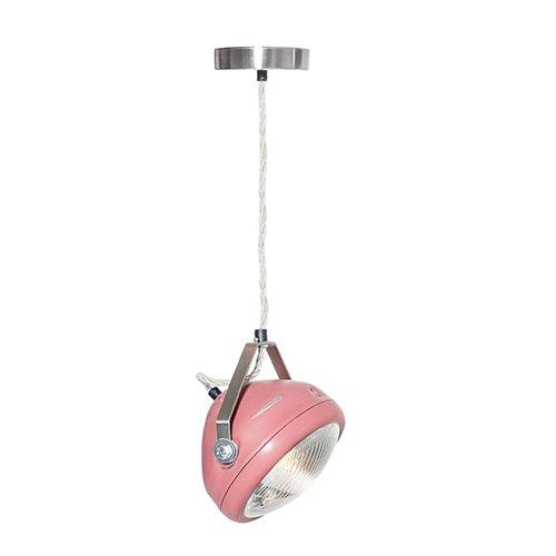 Lichtlab hanglamp vintage koplamp No.5 marsala