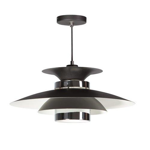 ETH hanglamp Potenza - zwart/chroom