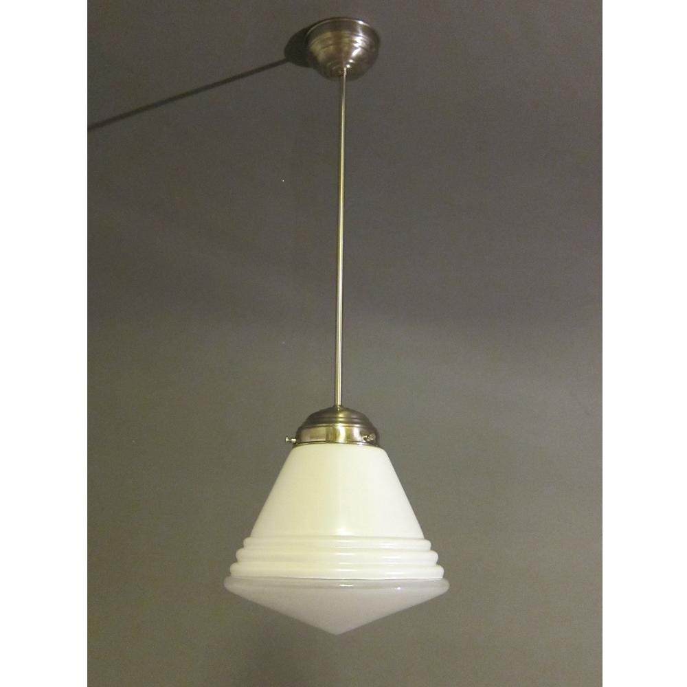 Giso hanglamp Luxe schoollamp met lichtvenster