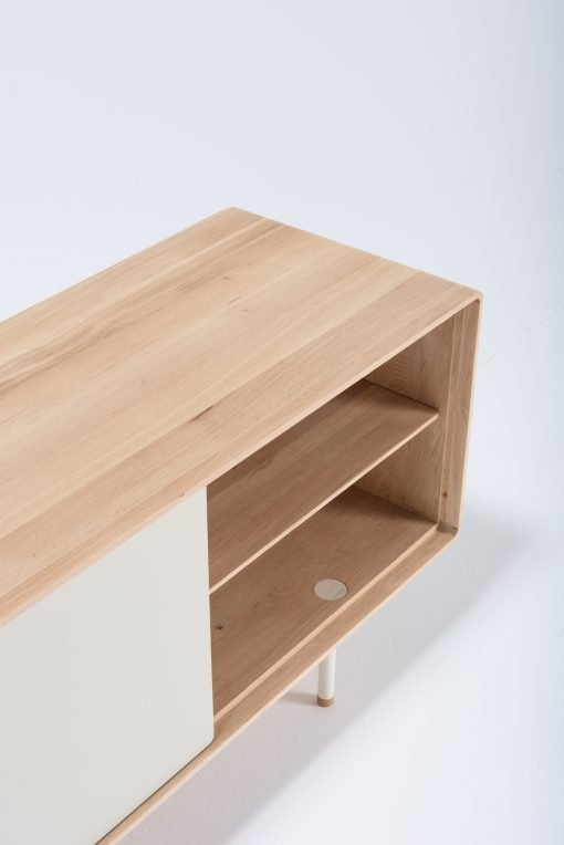 Gazzda tv-meubel Fina 180 (sideboard) mushroom detail 3