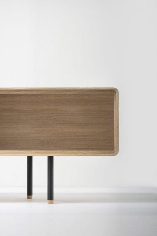 Gazzda tv-meubel Fina (lowboard) nero detail 2