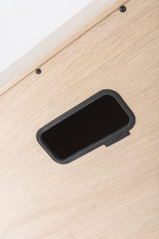 Gazzda tv-meubel Fina (lowboard) nero detail 4