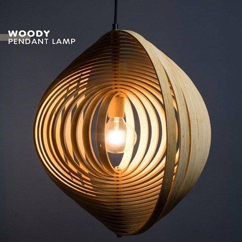 ETH hanglamp Woody - detail
