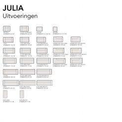 JAME uitvoeringen JULIA - De Inrichterij