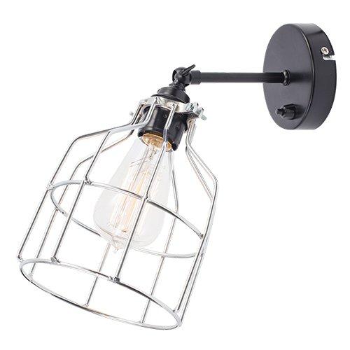 Lichtlab wandlamp No.15 kooi zwart - zilver