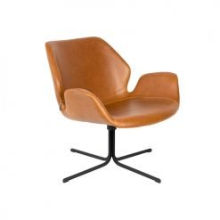 Zuiver fauteuil Nikki - bruin