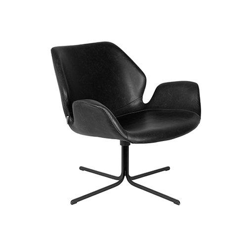 Zuiver fauteuil Nikki - zwart