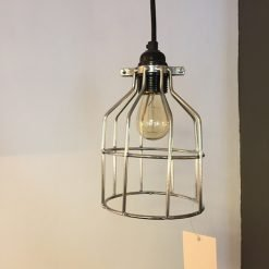 Lichtlab hanglamp No.15 kooi - zilver