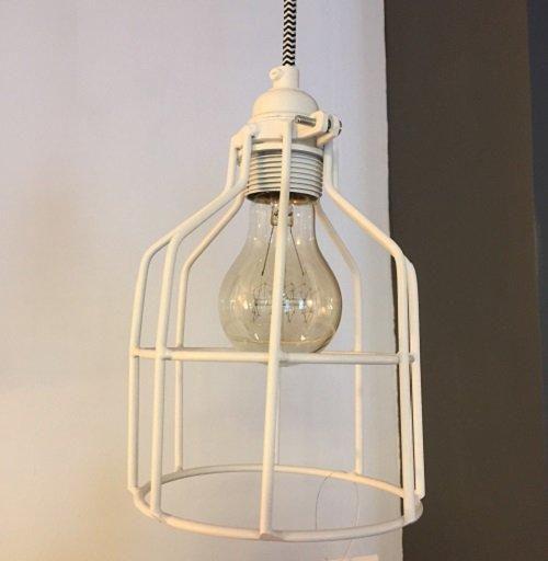 Lichtlab hanglamp No.15 kooi - wit