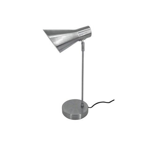 Leitmotiv bureaulamp Beaufort - geborsteld staal