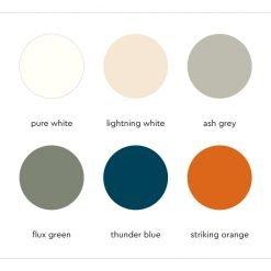 Tonone Bolt color overview