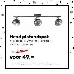 decemberdeal head plafondspot
