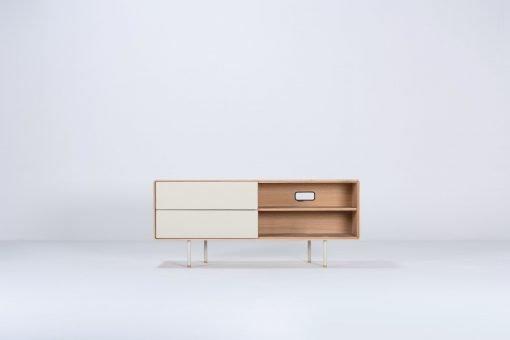 Gazzda tv-meubel Fina 150 (sideboard) mushroom front