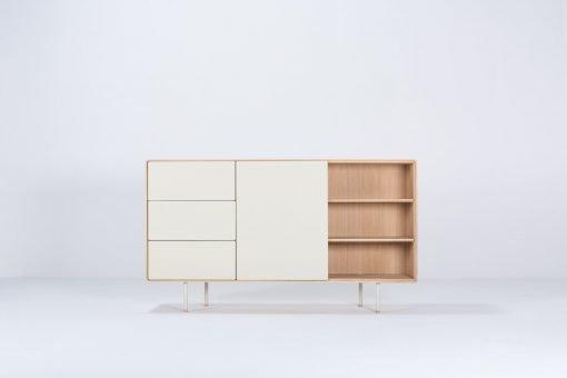 Gazzda dressoir Fina 176 (dresser) mushroom front