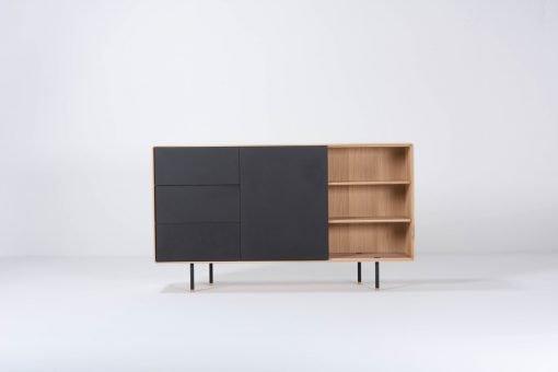 Gazzda dressoir Fina 176 (dresser) nero front