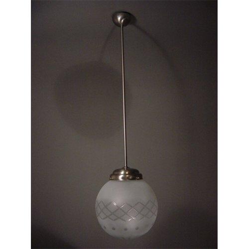 Giso hanglamp Bol etsdruk 30 cm - De Inrichterij