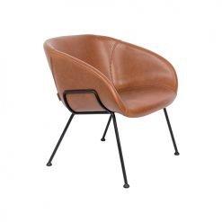 Zuiver fauteuil Feston - bruin