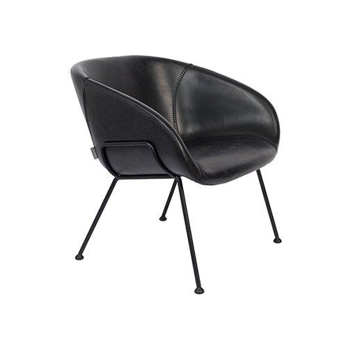 Zuiver fauteuil Feston - zwart