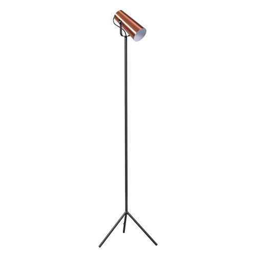 ETH staande lamp Stand Up - zwart/koper