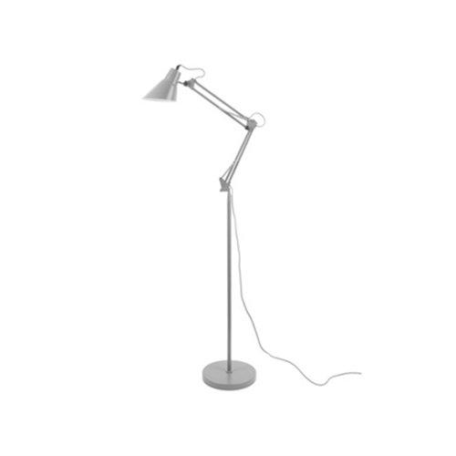 Leitmotiv staande lamp Fit - grijs