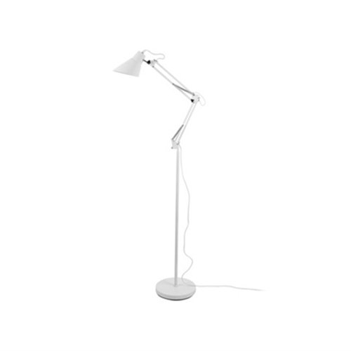 Leitmotiv staande lamp Fit - wit