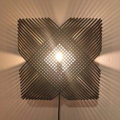 Lichtlab wandlamp No.39 Ovals black
