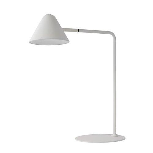 Lucide bureaulamp Devon wit - uit