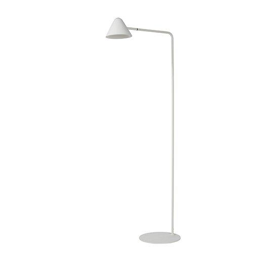 Lucide leeslamp Devon wit - uit