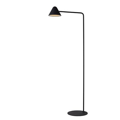 Lucide leeslamp Devon zwart - aan
