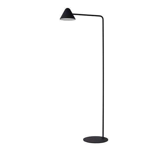 Lucide leeslamp Devon zwart - uit