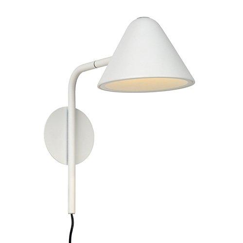 Lucide wandlamp Devon wit - aan
