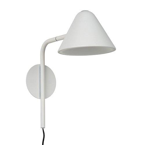 Lucide wandlamp Devon wit - uit