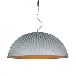 Formadri hanglamp Basic Dome Rib - grijs