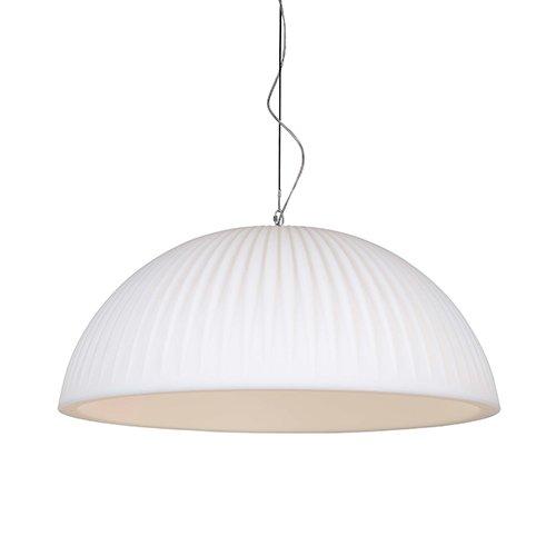 Formadri hanglamp Basic Dome Rib - wit