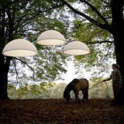 Formadri hanglamp Basic Dome - sfeer