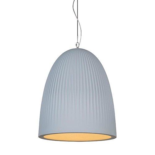 Formadri hanglamp Bell Dome Rib - grijs