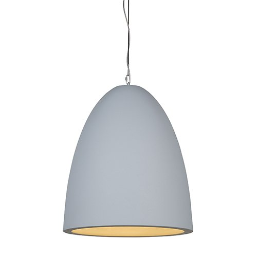 Formadri hanglamp Bell Dome - grijs