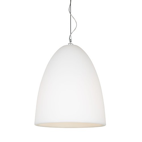 Formadri hanglamp Bell Dome - wit